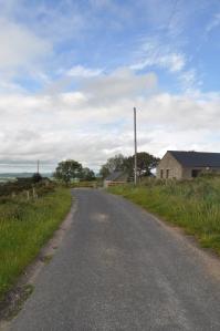 Ireland narrow road Monaghan
